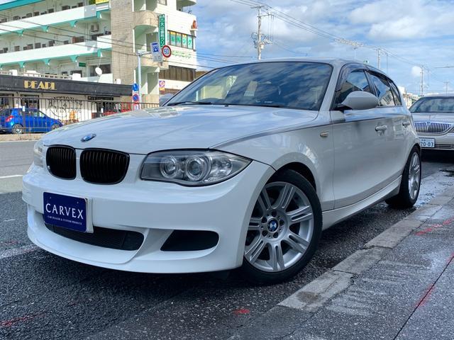 沖縄県の中古車ならBMW 118i BMWパフォーマンス 社外マフラー 社外HDDナビ