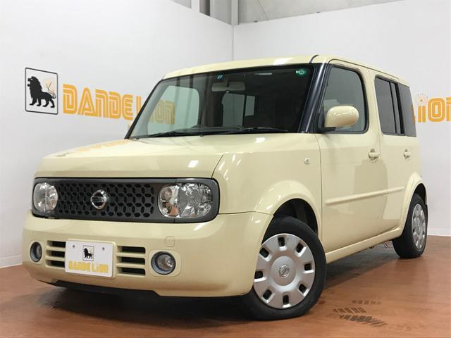 沖縄の中古車 日産 キューブ 車両価格 20万円 リ済別 平成19年 8.3万km アイリッシュクリーム