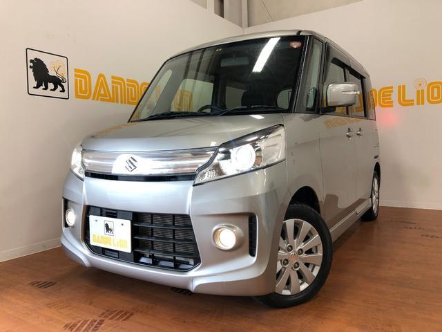 沖縄の中古車 スズキ スペーシアカスタム 車両価格 99万円 リ済別 平成26年 2.2万km シルバー