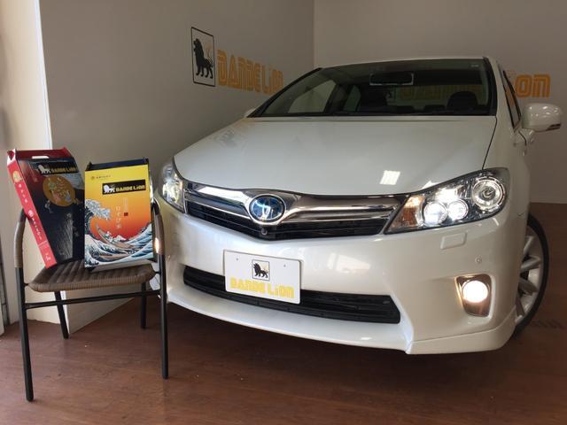 沖縄の中古車 トヨタ SAI 車両価格 129万円 リ済別 平成22年 3.5万km パールホワイト