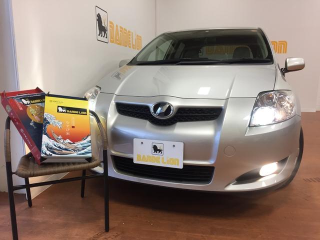 沖縄の中古車 トヨタ オーリス 車両価格 35万円 リ済別 平成20年 6.4万km シルバー