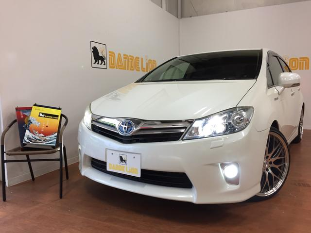 沖縄の中古車 トヨタ SAI 車両価格 110万円 リ済別 平成21年 5.7万km パールホワイト