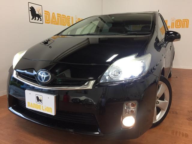 沖縄の中古車 トヨタ プリウス 車両価格 69万円 リ済別 2010(平成22)年 14.5万km ブラック