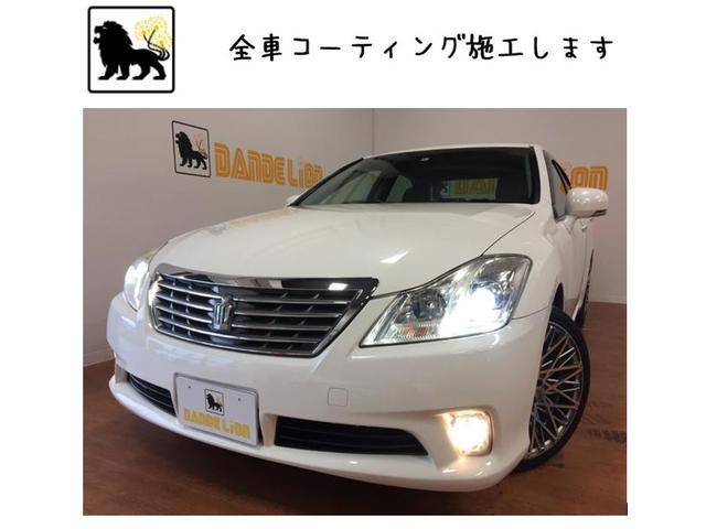 沖縄の中古車 トヨタ クラウン 車両価格 69万円 リ済別 2010(平成22)年 11.7万km パールホワイト