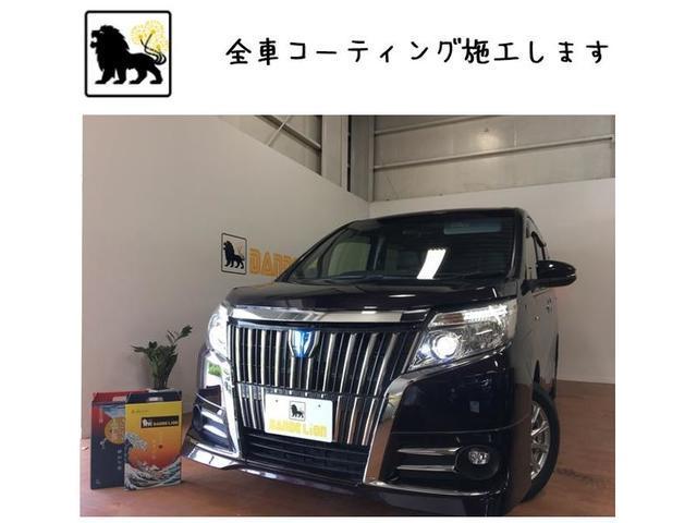 トヨタ ハイブリッドGi WPスライドドア ガラスコーティング