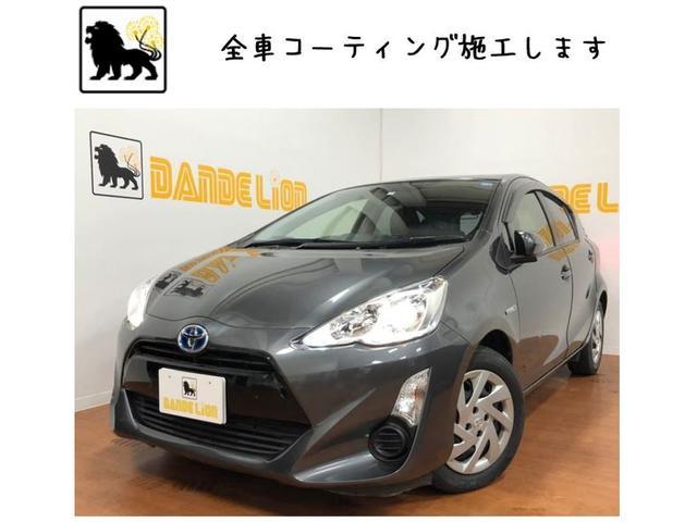 沖縄県の中古車ならアクア G Bluetooth接続可 ナビオーディオ フルフラット