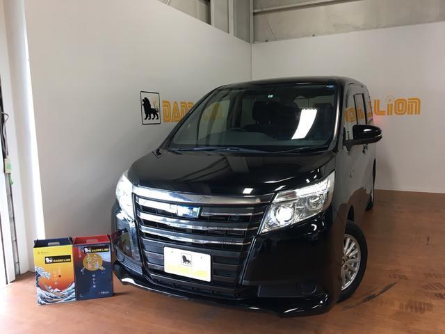 沖縄県の中古車ならノア ハイブリッド 電動スライドドア 内装消臭殺菌コート済み