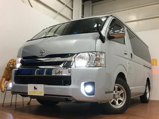 沖縄県の中古車ならハイエースワゴン エアロツアラー パワースライドドア ETC フロントスポイラ