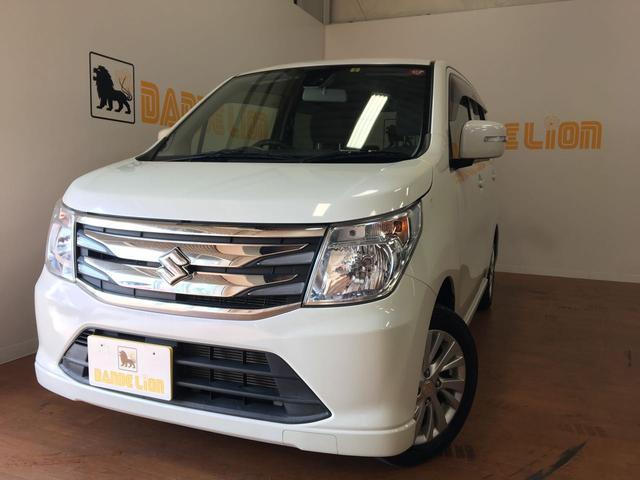 沖縄の中古車 スズキ ワゴンR 車両価格 64万円 リ済別 2015(平成27)年 5.4万km クリスタルホワイトパール