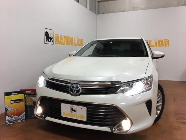 トヨタ カムリ ハイブリッド Gパッケージ HIDヘッドライト ETC