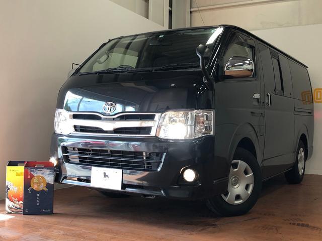 沖縄県の中古車ならハイエースバン ロングスーパーGL タイミングベルト交換済み HIDライト