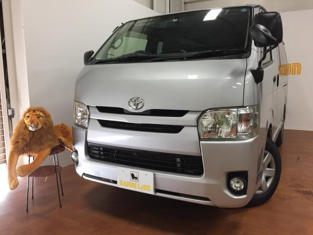 沖縄の中古車 トヨタ ハイエースバン 車両価格 115万円 リ済別 2014(平成26)年 8.4万km シルバー