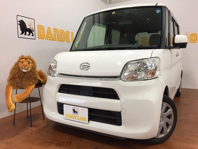 沖縄の中古車 ダイハツ タント 車両価格 54万円 リ済別 2014(平成26)年 7.9万km ホワイト