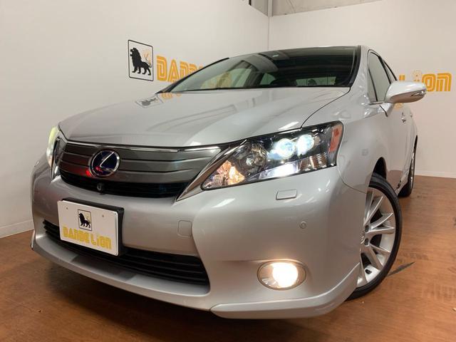 沖縄の中古車 レクサス HS 車両価格 89万円 リ済別 2010(平成22)年 5.3万km シルバー