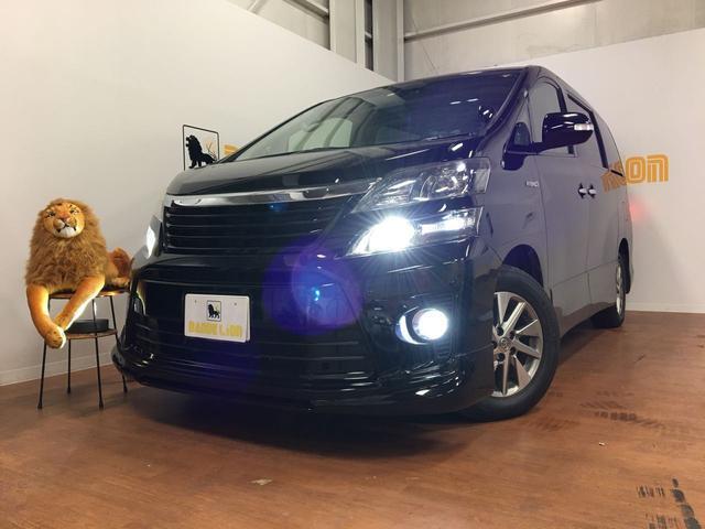 沖縄県の中古車ならヴェルファイアハイブリッド ZR 両側パワースライドドア 後席モニター コーナーセンサー