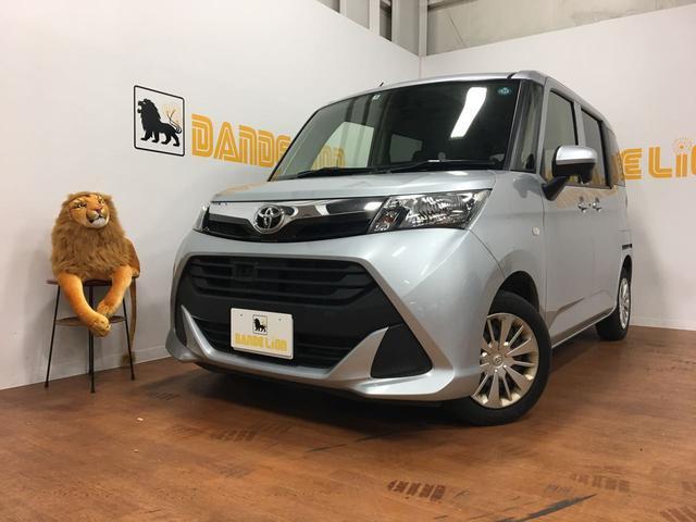 沖縄の中古車 トヨタ タンク 車両価格 99万円 リ済別 2017(平成29)年 7.0万km ブライトシルバーメタリック