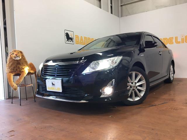 沖縄の中古車 トヨタ カムリ 車両価格 75万円 リ済別 2011(平成23)年 14.1万km ブラック