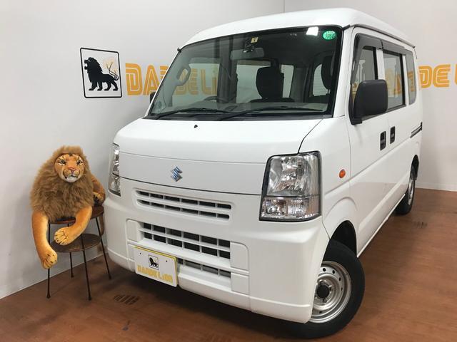 沖縄の中古車 スズキ エブリイ 車両価格 45万円 リ済別 2013(平成25)年 6.6万km スペリアホワイト