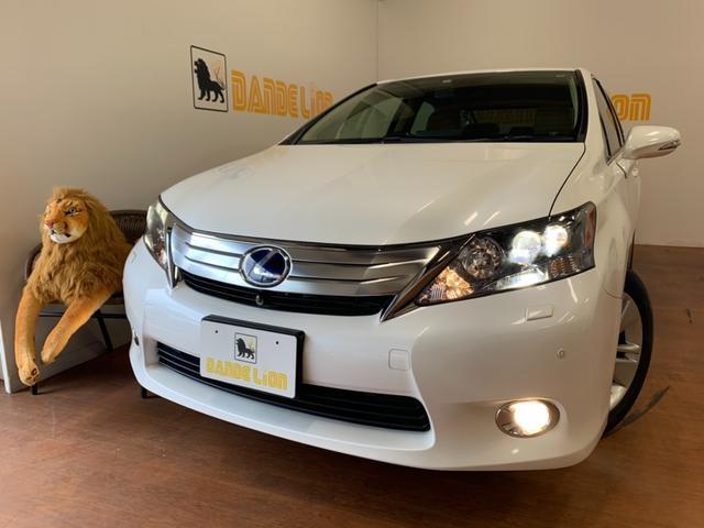 沖縄の中古車 レクサス HS 車両価格 89万円 リ済別 2009(平成21)年 9.8万km パールホワイト