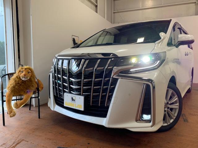 沖縄県の中古車ならアルファード 2.5S ツインムーンルーフ クリアランスソナー LEDヘッドライト 両側パワースライドドア キャプテンシート