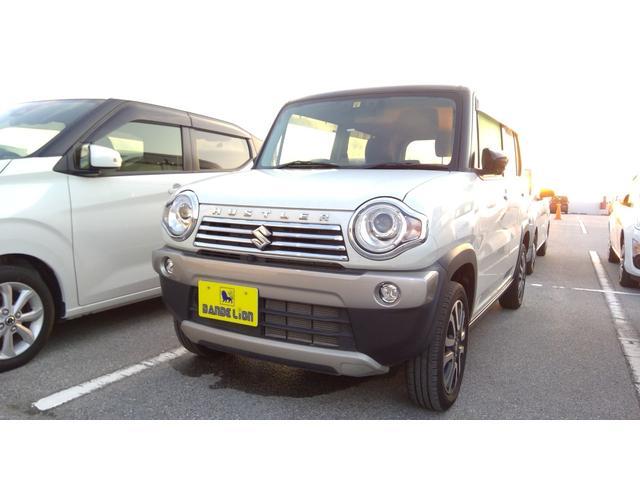 沖縄県の中古車ならハスラー J デュアルカメラブレーキサポート 純正ナビ 全方位モニター スマートキー HIDヘッドライト