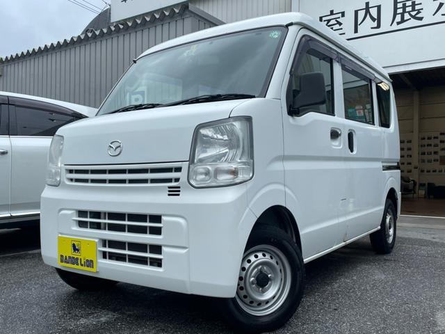 沖縄県の中古車ならスクラム PA フルフラットシート 光軸調整 ETC バックカメラ ナビ エアコン サイドバイザー