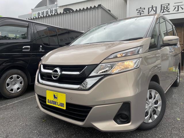 沖縄県の中古車ならセレナ S 電動スライドドア アラウンドビューモニター プッシュスタート スマートキー ナビ 3列シート