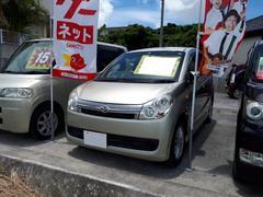 沖縄の中古車 ダイハツ ミラカスタム 車両価格 25万円 リ済込 平成19年 6.7万K ゴールド
