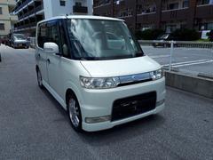 沖縄の中古車 ダイハツ タント 車両価格 28万円 リ済込 平成17年 9.6万K ホワイトII
