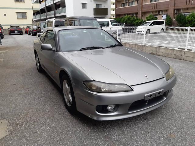 沖縄の中古車 日産 シルビア 車両価格 35万円 リ済別 2000(平成12)年 13.0万km ガンM
