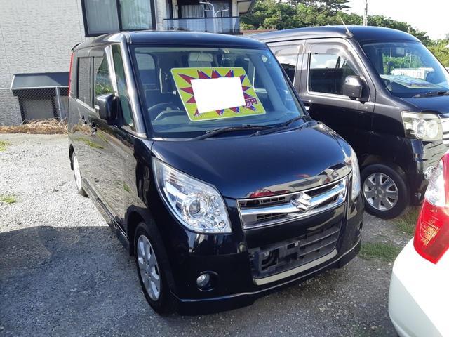 沖縄の中古車 スズキ パレットSW 車両価格 28万円 リ済込 2009(平成21)年 12.9万km パープル