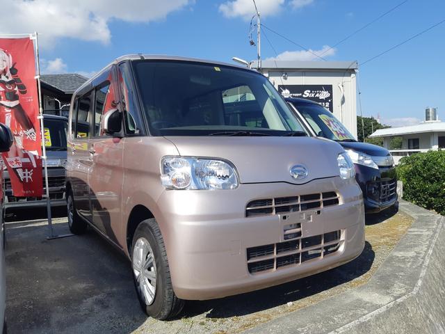 沖縄県の中古車ならタント  車椅子 福祉車両