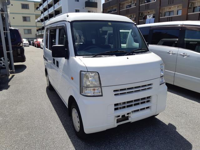 沖縄の中古車 スズキ エブリイ 車両価格 38万円 リ済込 2011(平成23)年 13.2万km ホワイト
