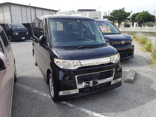 沖縄の中古車 ダイハツ タント 車両価格 36万円 リ済込 2008(平成20)年 12.5万km ブラック