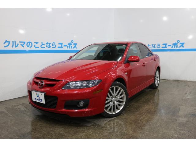 沖縄県の中古車ならマツダスピードアテンザ 2.3DIGIターボ 6速マニュアル 純正18インチAW