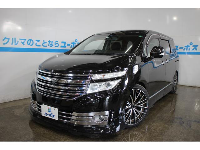 沖縄の中古車 日産 エルグランド 車両価格 125万円 リ済別 2010(平成22)年 9.9万km ファントムブラックP
