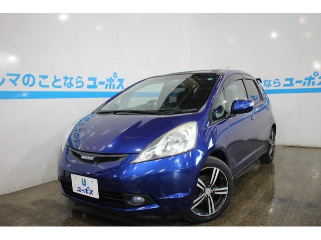 沖縄の中古車 ホンダ フィット 車両価格 39万円 リ済別 平成22年 7.3万km ディープサファイアブルーパール