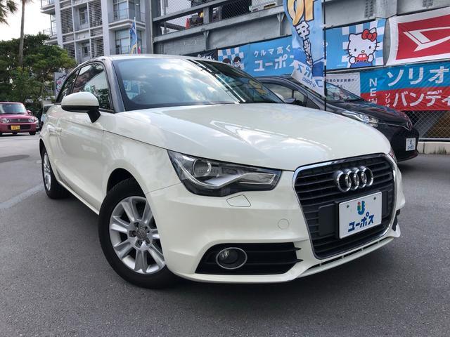 沖縄の中古車 アウディ アウディ A1 車両価格 79万円 リ済別 2012(平成24)年 9.6万km ホワイト