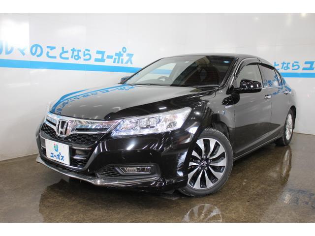 沖縄県の中古車ならアコードハイブリッド LX OP5年保証対象車 純正インターナビ バックモニター