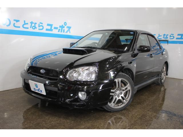 沖縄の中古車 スバル インプレッサ 車両価格 65万円 リ済別 2003(平成15)年 12.0万km ブラックトパーズマイカ