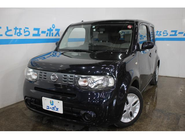 沖縄の中古車 日産 キューブ 車両価格 79万円 リ済別 2013(平成25)年 2.9万km サファイアブラックP