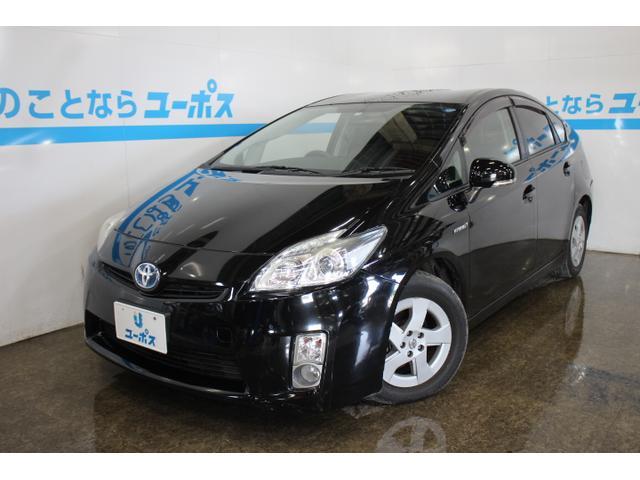 沖縄の中古車 トヨタ プリウス 車両価格 55万円 リ済別 2011(平成23)年 13.9万km ブラック