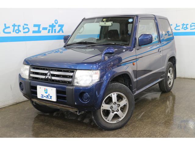 沖縄県の中古車ならパジェロミニ XR OP5年保証対象車 イクリプスナビ キーレスエントリー