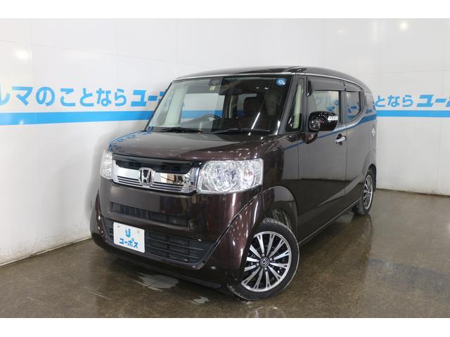 沖縄県那覇市の中古車ならN-BOXスラッシュ X・ターボパッケージ OP10年保証対象車 レザーシート