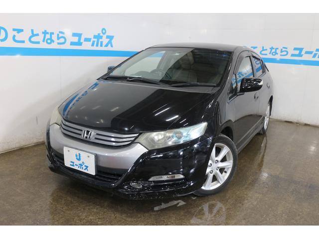 沖縄の中古車 ホンダ インサイト 車両価格 35万円 リ済別 2009(平成21)年 12.0万km クリスタルブラックパール