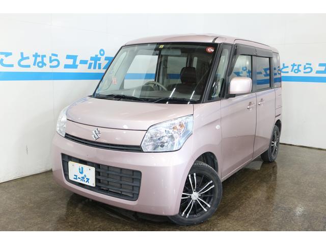 沖縄県の中古車ならスペーシア G OP5年保証対象車 DEEPINPACT14インチAW