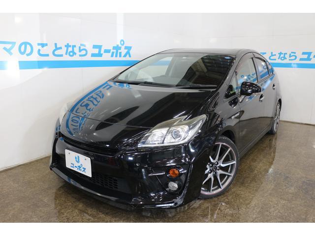 沖縄県の中古車ならプリウス Sツーリングセレクション・G's OP5年保証対象車 純正HDDナビ クルーズコントロール