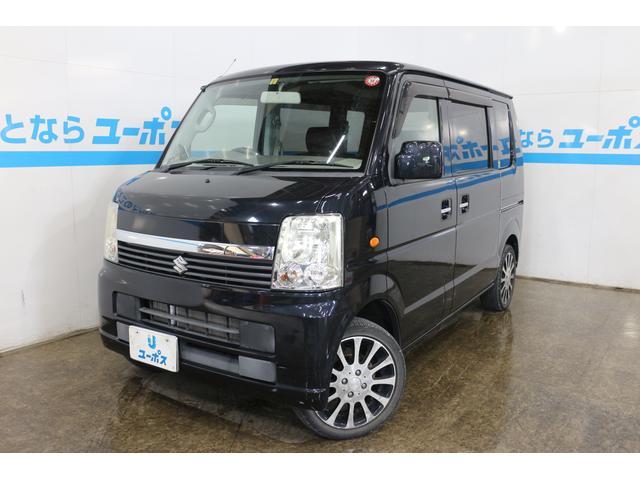 沖縄県の中古車ならエブリイワゴン JPターボ キーレスエントリーシステム 15インチアルミホイール