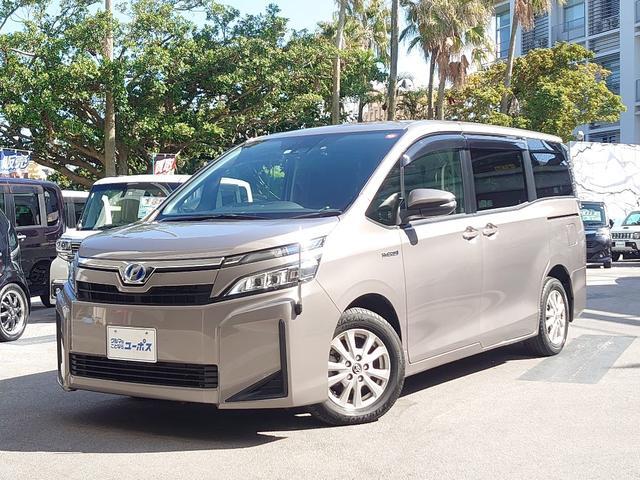 沖縄県那覇市の中古車ならヴォクシー ハイブリッドX OP5年保証対象車 パワースライドドア トヨタセーフティセンス