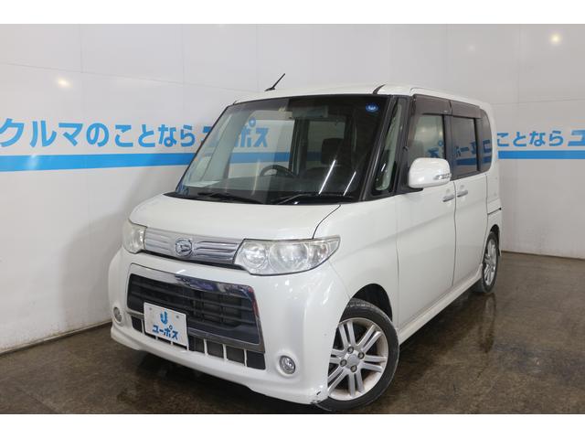 沖縄の中古車 ダイハツ タント 車両価格 55万円 リ済別 2011(平成23)年 7.3万km パールホワイトIII